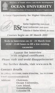 BSc undergraduates @ Ocean University