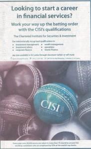 CISI Now @ Srilanka