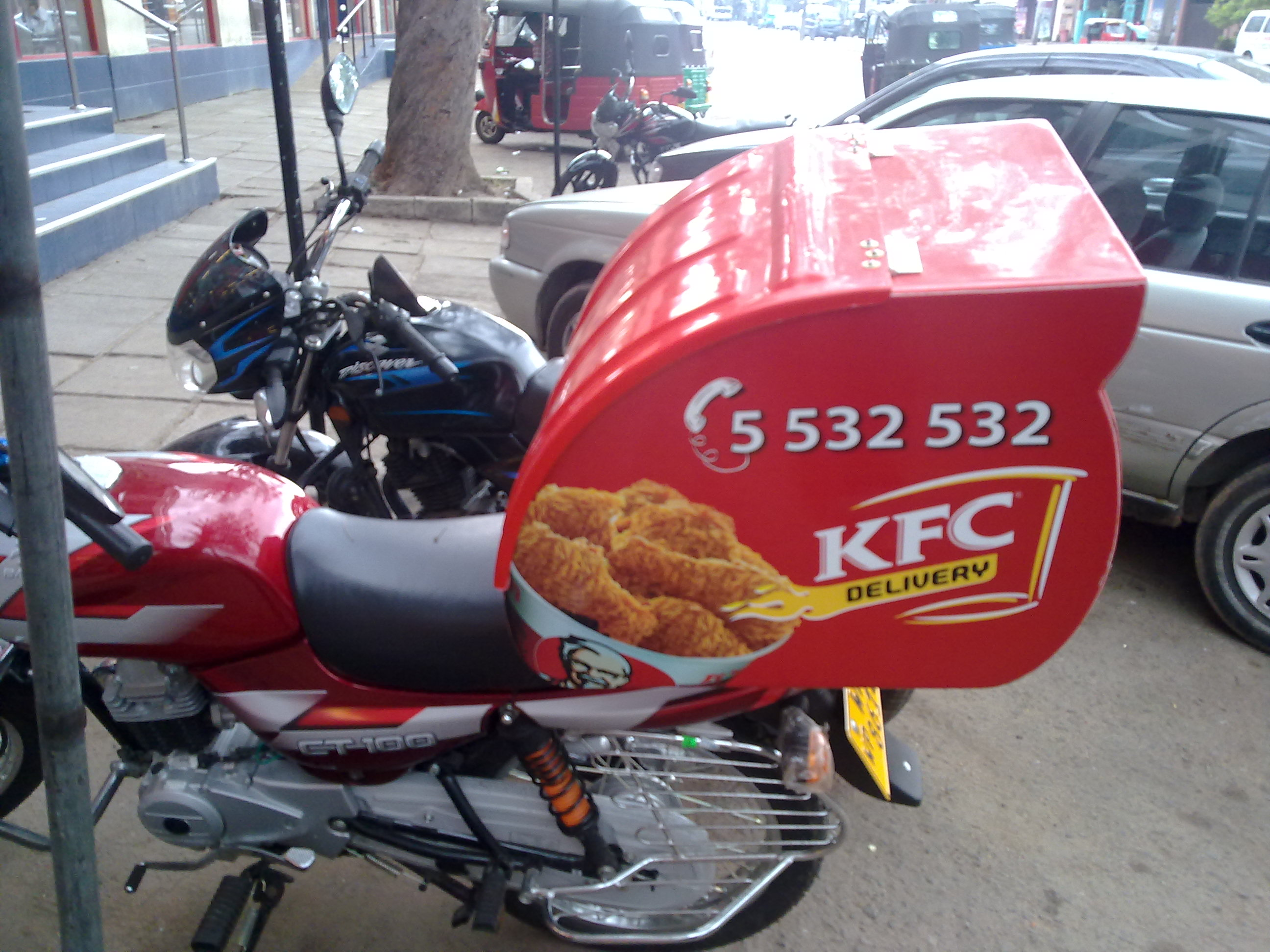 KFC Introduce Home delivery service in Srilanka « Synergyy.com