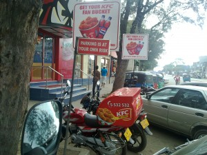 KFC Home Deliver [ No Need to park at our own Risk ]