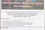 University of Colombo (UOC) Faculty of Graduate Studies (FGS) Calls Application for Master / PG Diploma in Labour and Human Resource Management