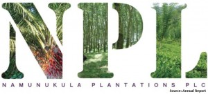 Namunukula Plantations PLC