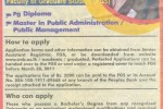 Postgraduate Diploma/ Master in Public Administration / Public Management University of Colombo