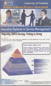 Executive Diploma In service Management