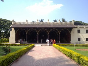 Tipu Sultan's Summer Palace front view
