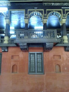 Tipu Sultan's Summer Palace balconies
