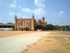 Bangalore Palace from the distance