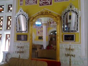Mirrors of Bangalore Palace