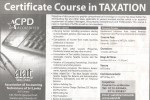 Certificate Course in Taxation by AAT Srilanka