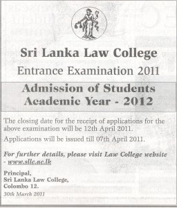 Srilanka Law College
