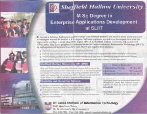 Msc Enterprise Applications Development