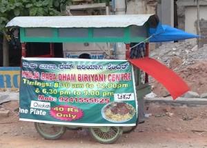street side food shops india