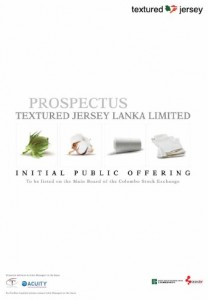 Textured Jersey Lanka Limited
