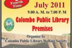 Colombo National Book Fair 2011 at Colombo Public Library Premises