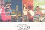 Singapore Airline Holidays package to Singapore for 3 Days/2 Nights at Rs.52, 200.00