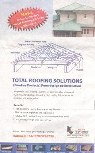 Total Roofing Solutions by Rhino Supermet