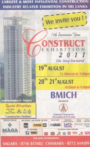 Construct Exhibition 2011 Colombo