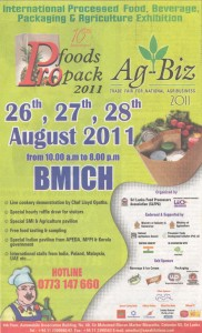 Foods Pro pack 2011 - Exhibition