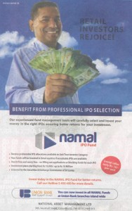 National Asset Management Ltd Namal IPO Fund