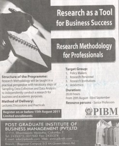 Research Methodology for Professionals