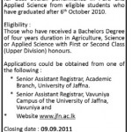 University of Jaffna Invites Applications for Prof.Kanthia Kunaratnam Gold Medal