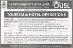 3 Month Course on Tourism & Hotel Operations