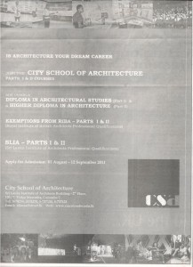 Architectural Studies in Colombo