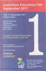 Australian Education fair september 2011