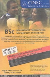 BSc International Transportation Management and Logistics by CINEC Maritime Campus