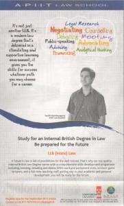LLB (Hons) Law by APIIT Law School