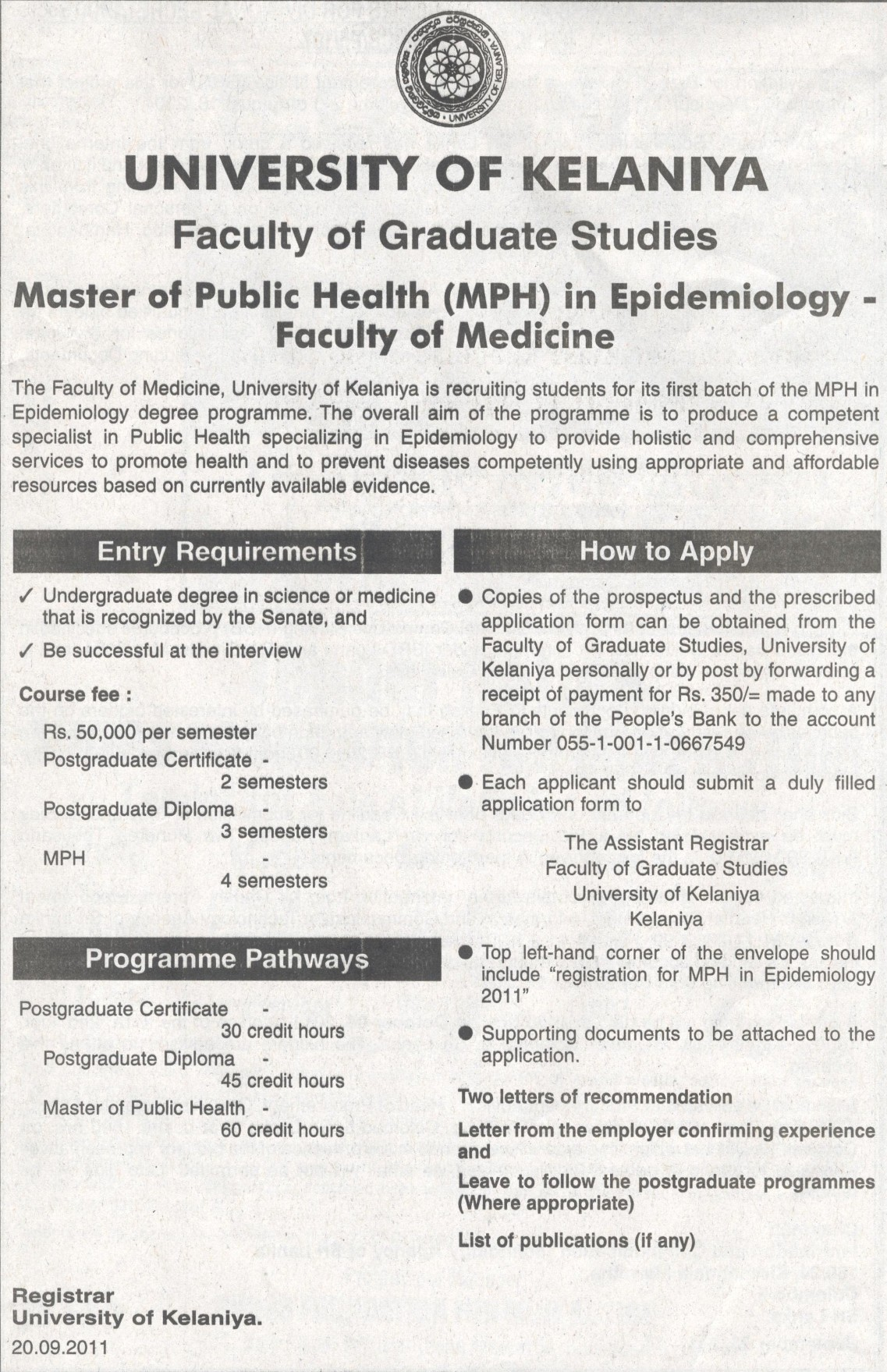 Master Of Public Health Mph In Epidemiology By