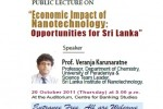 Economic Impact of Nanotechnology: Opportunities for Srilanka