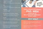 MBA, PhD from Management & Science University (MSU) Malaysia