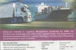 Advance Diploma in Logistic Management by NIBM