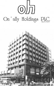 On' Ally Holdings PLC
