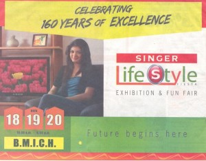 Singer Lifestyle Fiesta – Exhibition & Fun fair