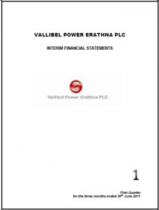 Vallibel Power Erathna PLC