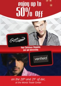 Enjoy 50% Off for Crocodile branded Products on 20th and 21st December 2011