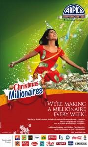 ARPICO Supercenter creates Millionaire every week