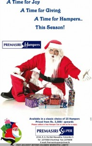 Seasonal gift hampers from Rs. 3,500.00 upwards by Premasiri Hampers