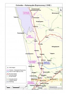 Colombo – Katunayake Express (High) way - Source RDA
