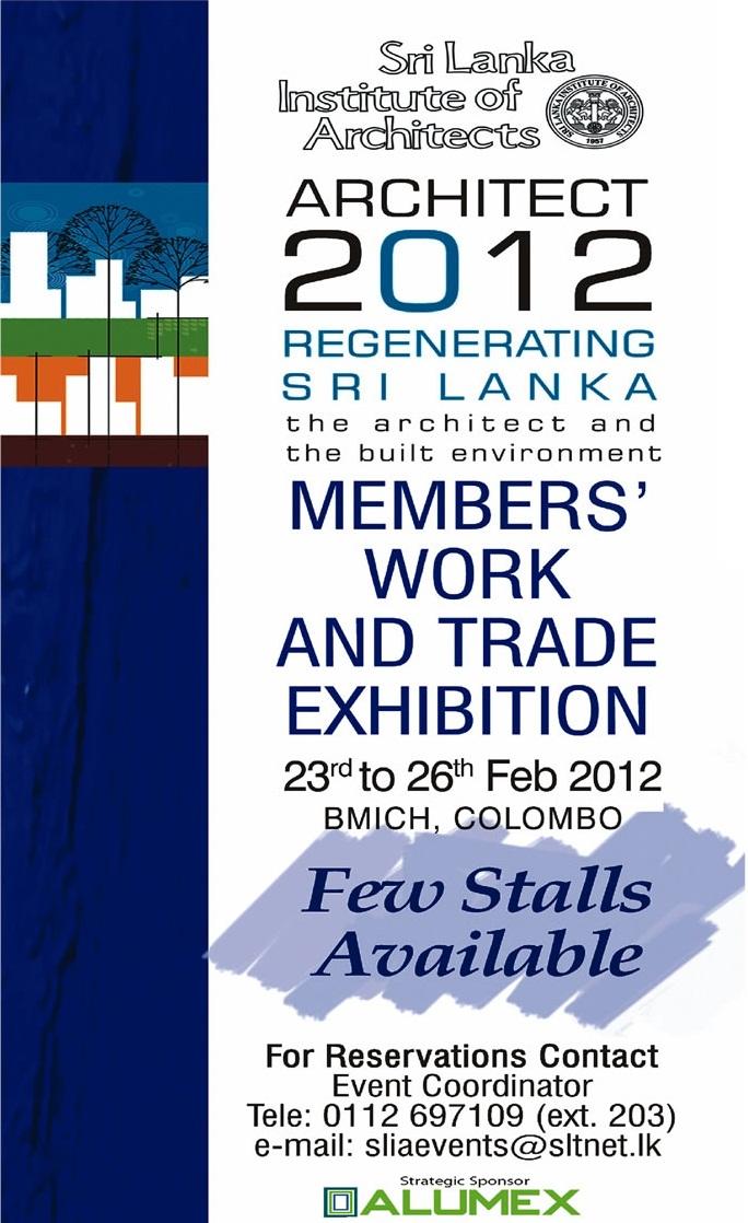 Exhibition Stall Design Sri Lanka : Architect regenerating sri lanka exhibition stalls