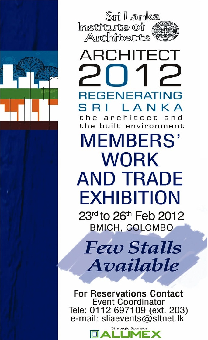 Exhibition Stall Builders In Sri Lanka : Architect regenerating sri lanka exhibition stalls
