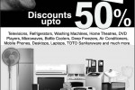Abans Clearance Sale Discounts up to 50% – 27th & 28th January 2012