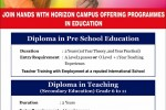 Diploma in Pre School Education and Diploma in Teaching by Horizon Campus