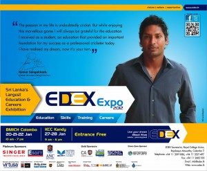 EDEX Expo 2012 Exhibitions in Colombo and Kandy in January 2012