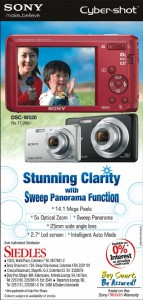 Experience Sony Cyber Shot Clarity just for Rs. 17,990.00