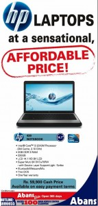 HP 430 Notebook Cash Price for Rs. 59,900.00 cash From Abans