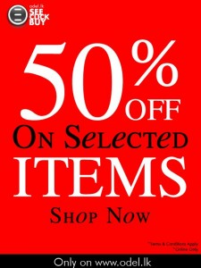 Odel 50% off on Online Shopping for selected 94 products