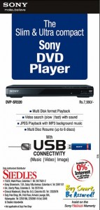 Sony DVP-SR320 DVD Player sale for LKR. 7,990.00 By Siedles